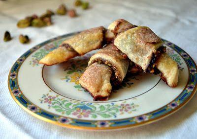 Cherry-Pistachio Rugelach {Video} - The Little Ferraro Kitchen