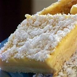 Lemon Pie Bars | Sweet Nothings- | Pinterest