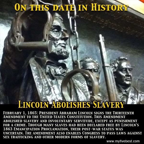 Congress Passes 13th Amendment, 150 Years Ago - History in the ...