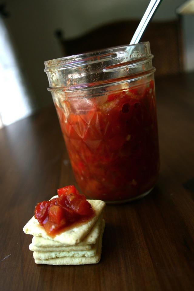 Spicy Tomato Relish | JAM & JELLY ... | Pinterest