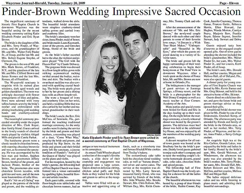 Pin by momento on wedding newspapers pinterest for Wedding announcement ideas for newspaper