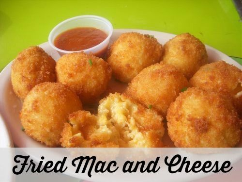 fried food always taste better try these fried mac and cheese balls ...