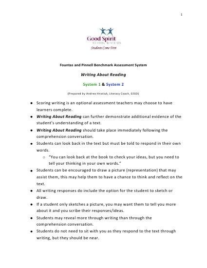 Benchmark assessment essay
