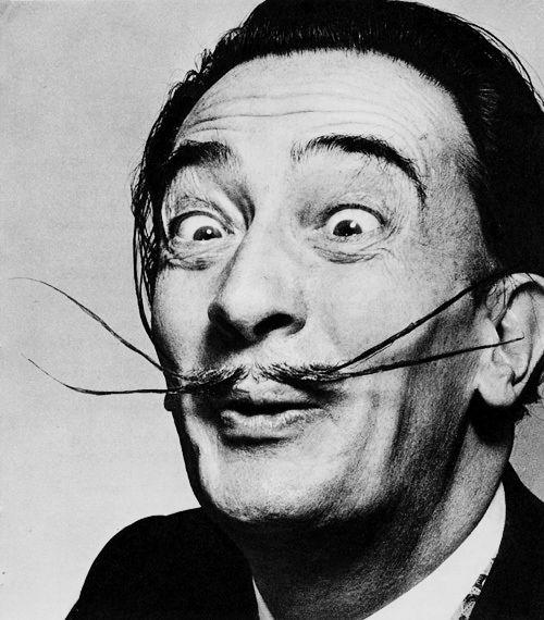 Salvador Dali | Famous Faces | Pinterest