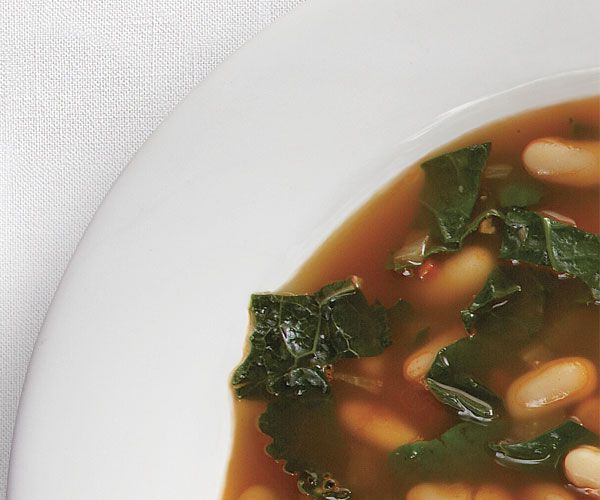 cannellini bean and kale soup vegetarian recipe
