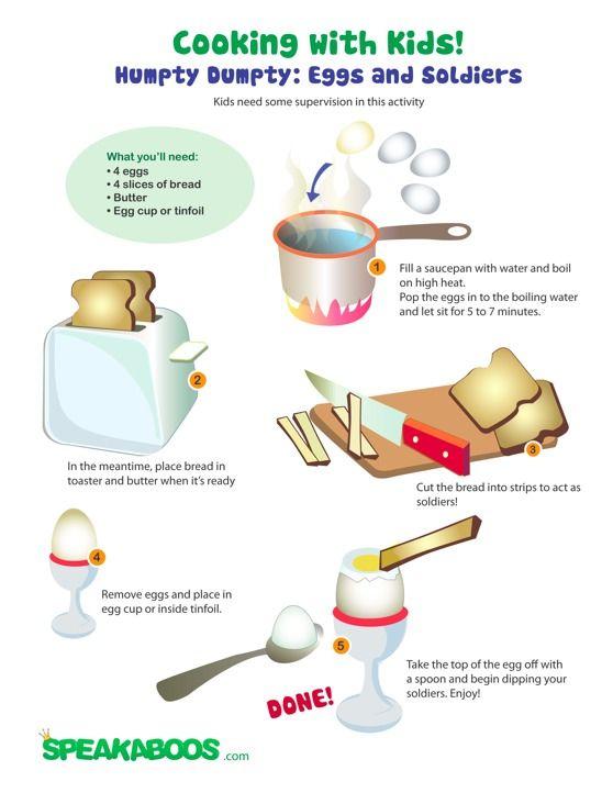 ... Worksheets #recipes #worksheets #kids #creative #eggs #cooking