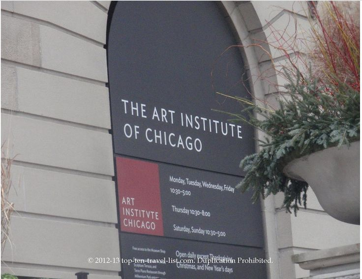 art institute of chicago july 4th