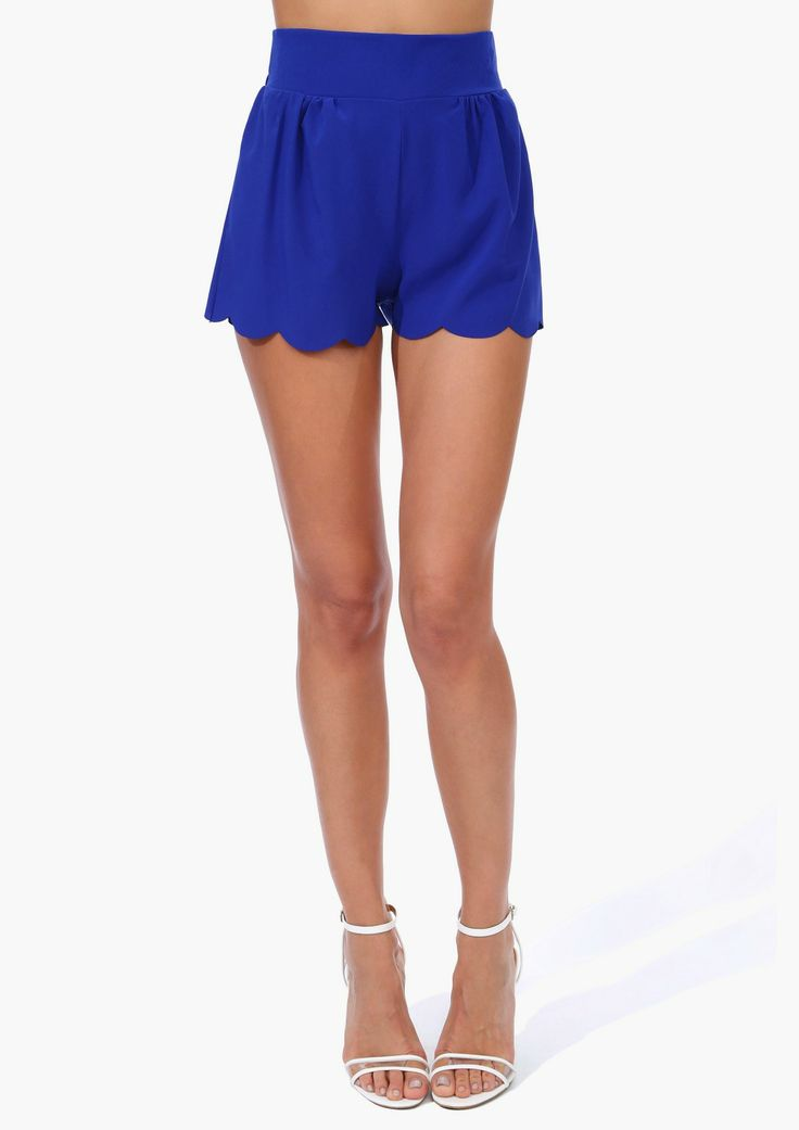 Find scalloped shorts at ShopStyle. Shop the latest collection of scalloped shorts from the most popular stores - all in one place.