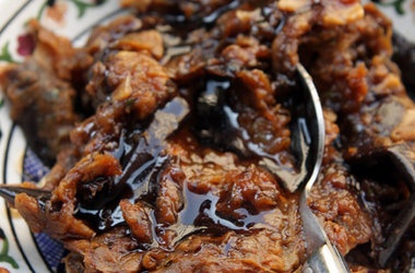 Eggplant Jam — Punchfork | Condiments, Sauces, Spices & Mixes (Vegan ...