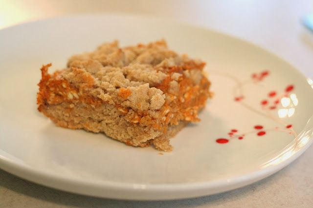 Pumpkin Cheesecake Crumb Bars ~ So easy to make...and delicious ...