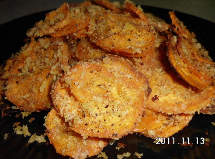 Sweet potato rounds | Recipes | Pinterest