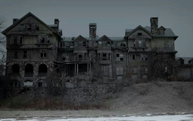 Haunted girls school haunted houses paranormal creepiness pinte - The house in the abandoned school ...