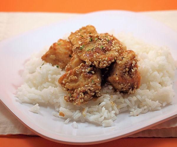Lighter Sesame Chicken: A lighter, homemade version that's just as ...