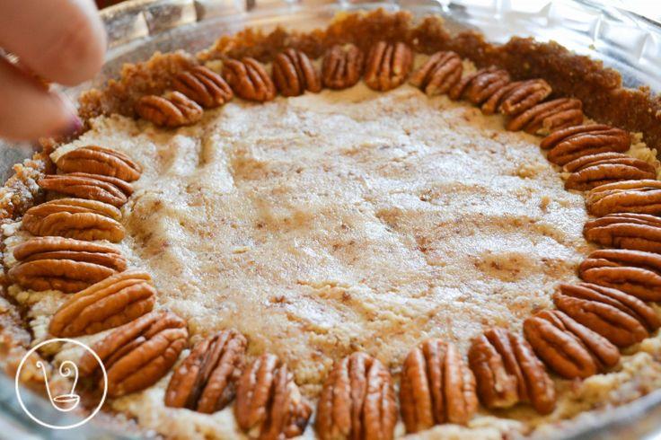 Raw Pecan Pie | Pie, me oh my...I love PIE. | Pinterest