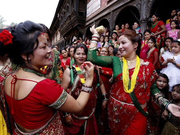 essay on teej festival in nepal Teej is celebrated exclusively in the bundi region of rajasthan it is celebrated in the hindu month of bhadra (july-august) more marwar festival celebrated during the months of september-october, the marwar festival in jodhpur is dedicated to the.