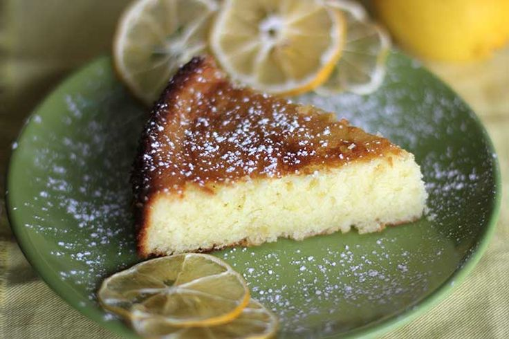 Lemon Olive Oil cake - One cup of flour only, uses 1/2 cup of lemon ...