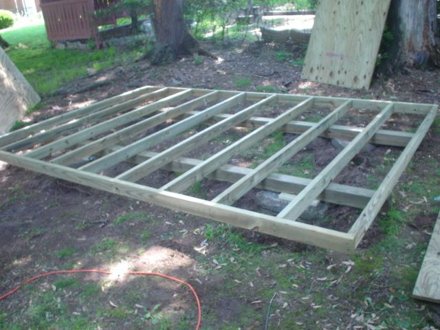Pressure Treated Shed Floor Woodworking Plans For
