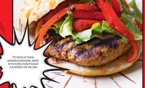 Jamaican Jerk Chicken Burger recipe – From The Burger