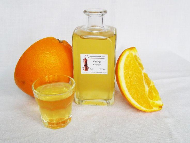 Homemade Orange Liqueur | Recipes to Cook | Pinterest