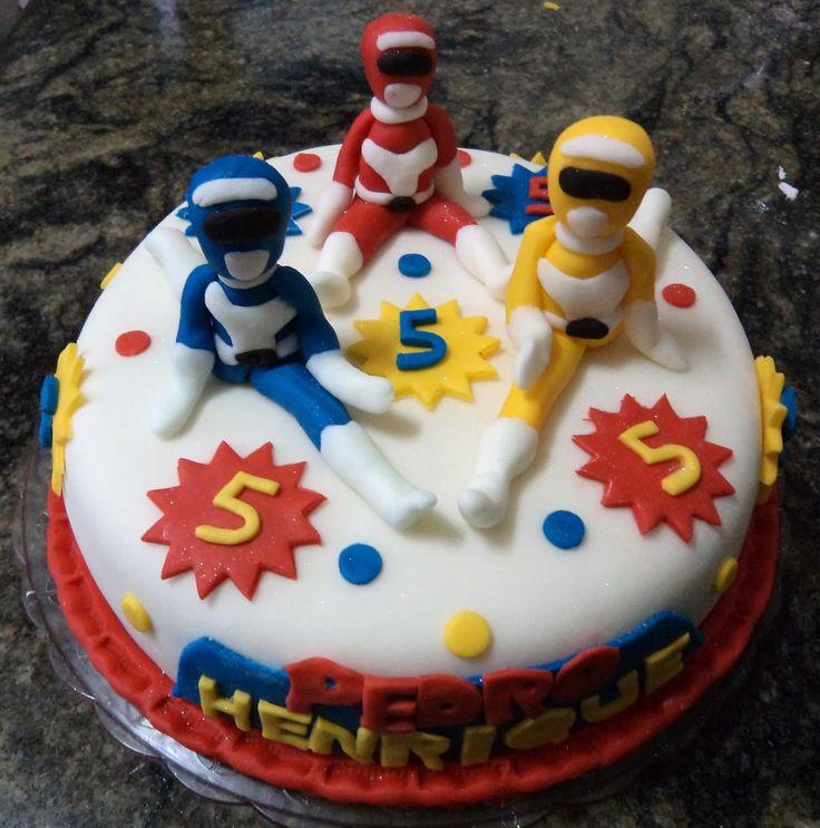Bolo+Power+Ranger++Atelier+Mirucha+Flore+Cake+Designer+cakepins.com