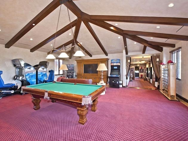 14 the big game room for the home office pinterest for Big game room