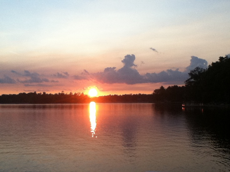 Sunset Lake Ogemaw | Favorite Places & Spaces | Pinterest