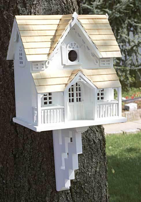 Victorian bird house  victorian home  Pinterest