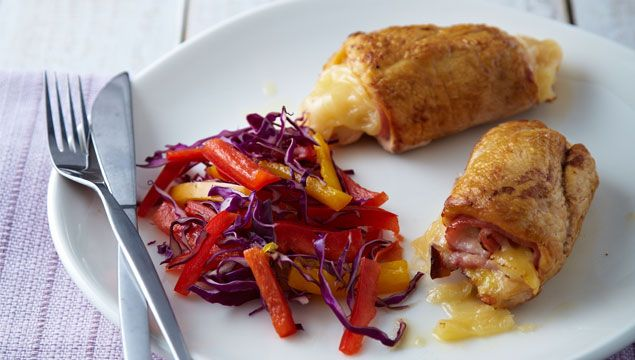 Pechugas de pollo rellenas chef oropeza tattoo design bild - Pechugas de pollo al horno ...