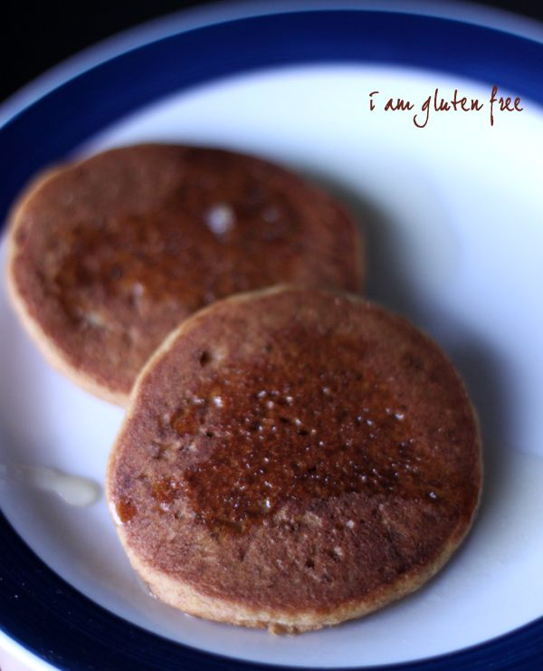 gluten-free silver dollar pumpkin pancakes