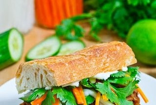 Vietnamese BBQ Pulled Pork Banh Mi — Recipe from Closet Cooking