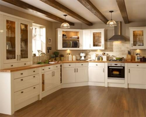 burford gloss cream kitchen families collection pictures