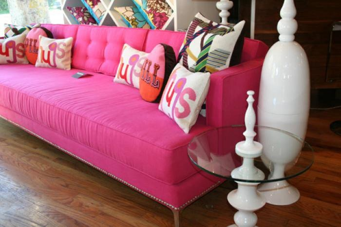 Hot Pink Sofa Chic And Fun My New Mansion