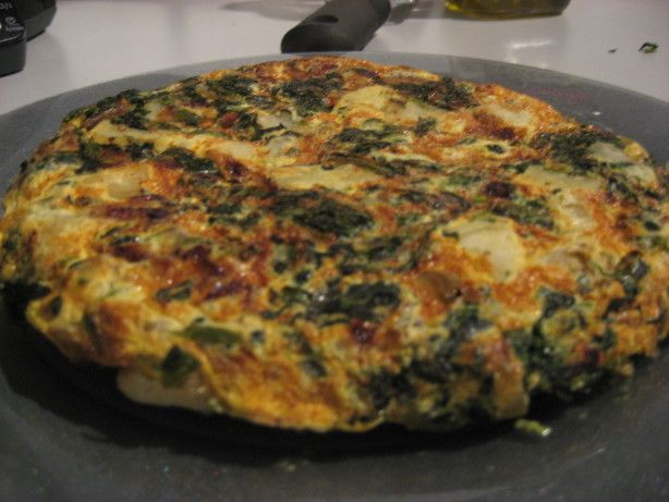 Spanish Tortilla: = 1/2 tsp. olive oil per serving of 1/4 recipe (For ...