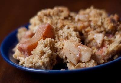 Apple, Orange, Rhubarb Crisp | Yummy! | Pinterest