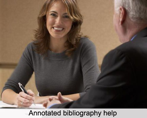 annotated bibliography turabian