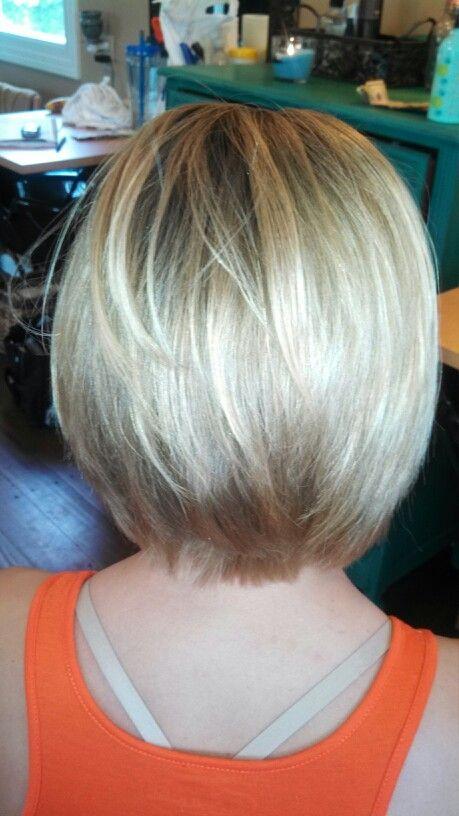 Razered layered bob | HAIR | Pinterest