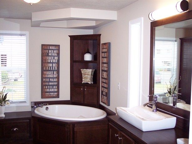 Mobile homes remodeling ideas mobile home remodeling for Mobile home master bathroom remodel