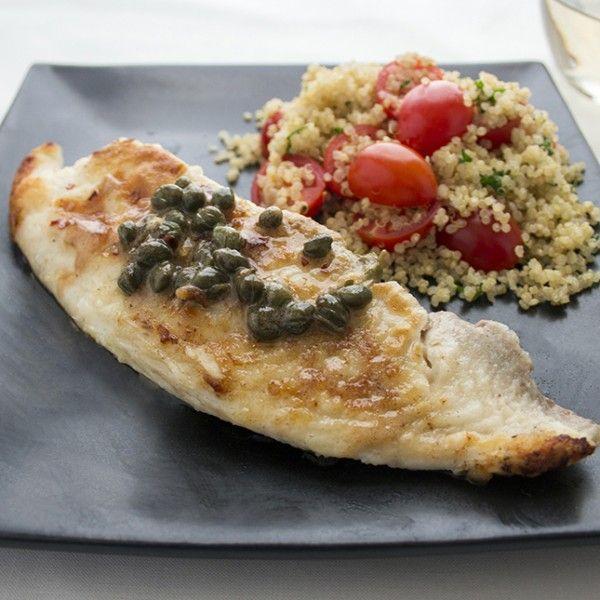 Tilapia Piccata | Recipe