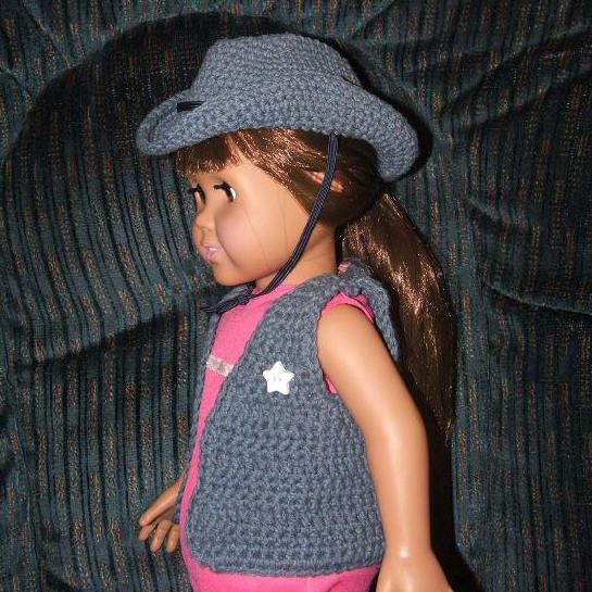 Free Crochet Doll Hat Pattern