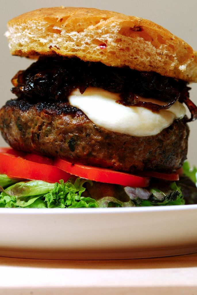 Lamb Burger | Cooking | Pinterest