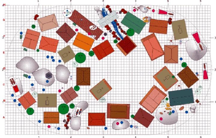 Sample layout christmas snow village pinterest