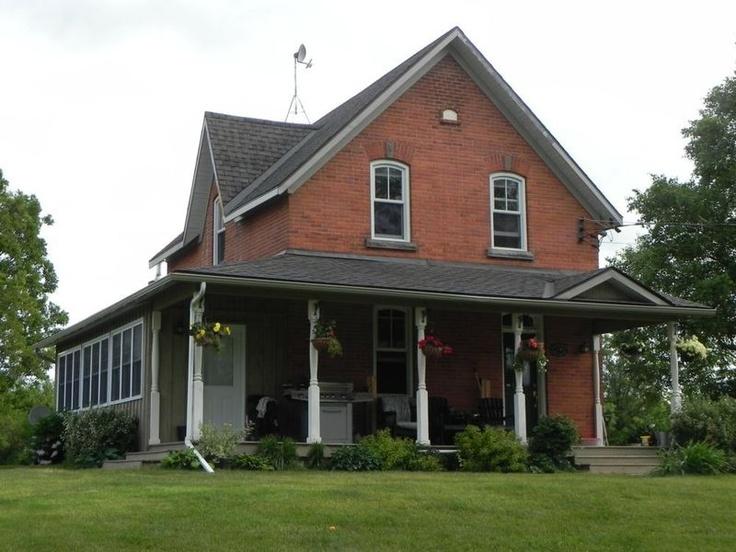 Century Brick Farmhouse Renovation Inspiration Exterior