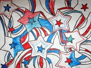 veterans day flag art