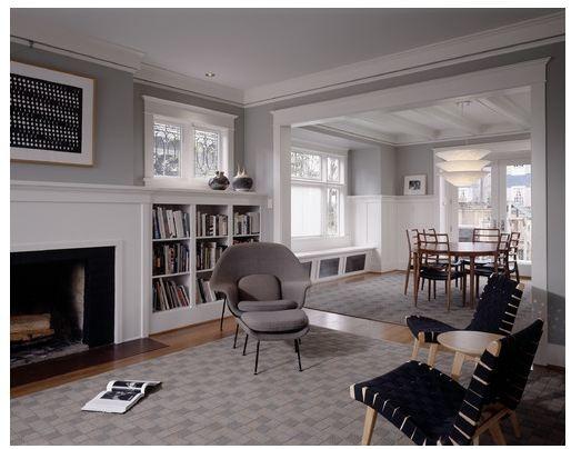 Craftsman Style Living Room LIZZI Pinterest