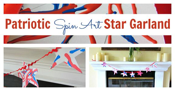 mens carry on bags Spin art  Memorial day craft  Fourth of July