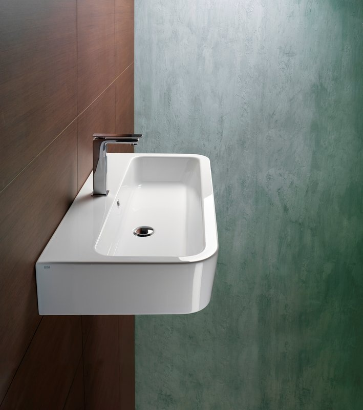 Thin Sink : narrow-long sink, overmount or drop in For the home - Bathroom insp ...