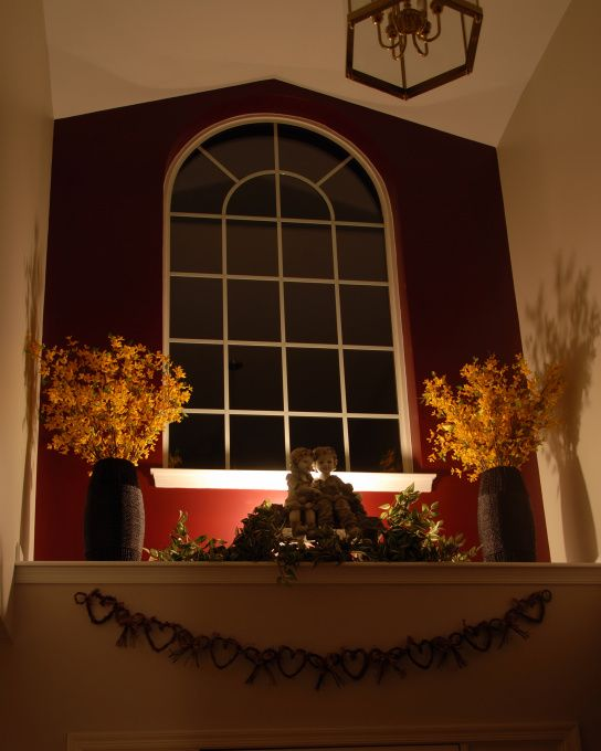 Foyer Window Ledge Decor : Pin by suzi corwith on living room library entry