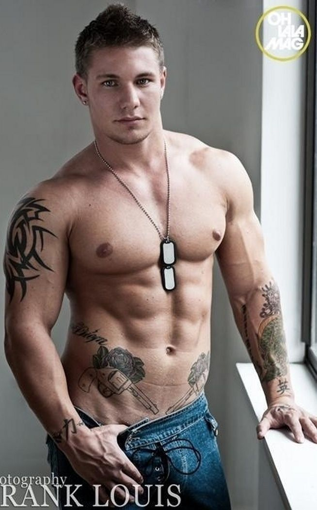 Sexy man eye candy pinterest for Tattoos for gay men
