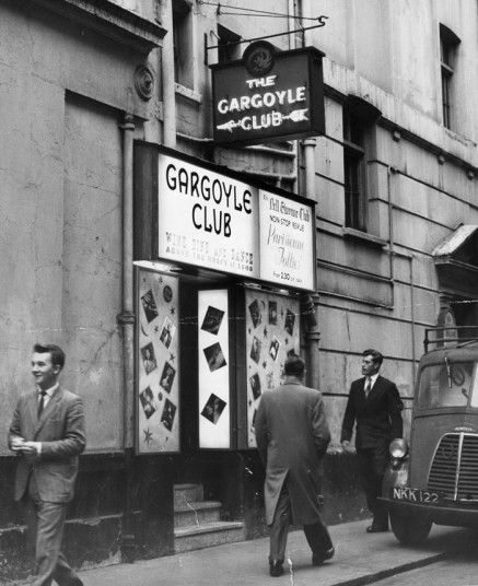 Photo of the entrance to the Gargoyle Club
