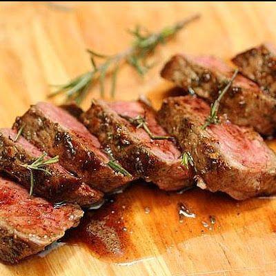 Rosemary Garlic Butter Steak | Meats: Beef: Ham: Lamb: Pork | Pintere ...